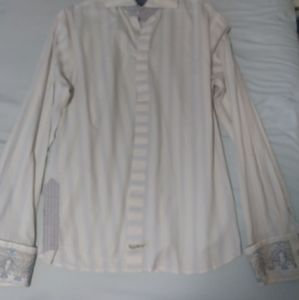 Old English button down